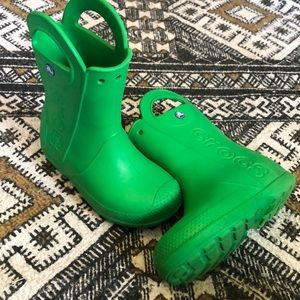 Crocs rain boots Children's J 1